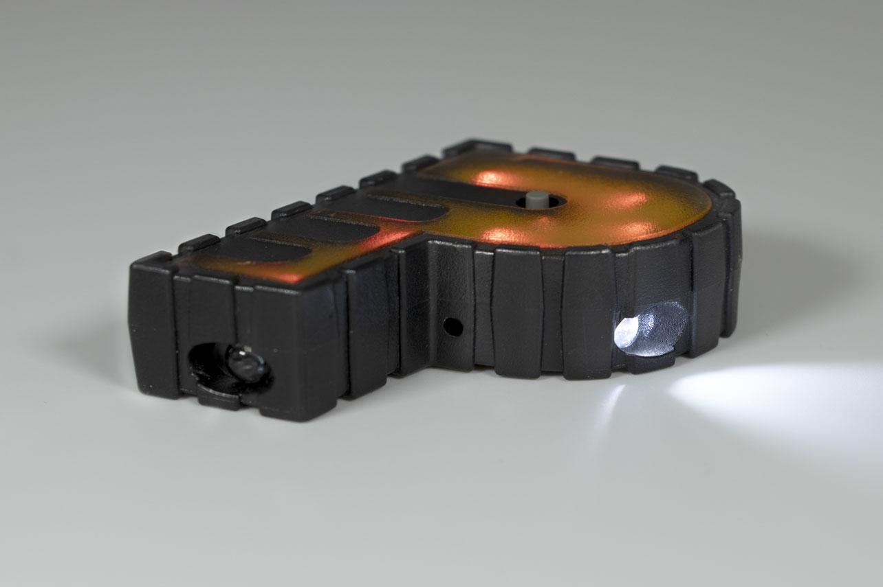 Cavist 2-Shot overmolding with buttons with LEDs